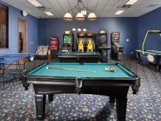 Game room in Paradise Palms clubhouse
