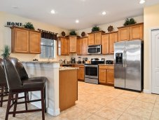 Fully equipped kitchen, stainless appliances