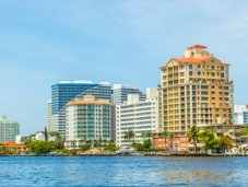 Fort Lauderdale view from the ocean