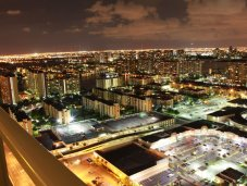 Miami night view