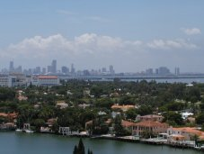 Miami city view