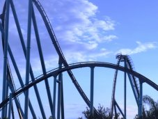 Sea World roller coaster