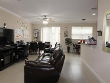 Open floor plan Miami townhome