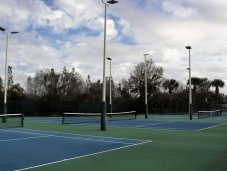 Tennis courts at Madow Pointe Clubhouse