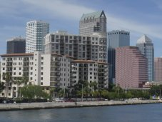 Tampa city view